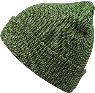 dark green beanie hat