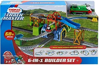 Fisher-Price Thomas and Friends Trackmaster 6-in-1 Builder Set Thomas The Tank Engine Percy