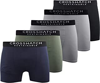 Crosshatch Mens Boxers Shorts (5 Pack) Multipacked Underwear Gift Set AMBERSAND