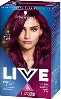 Best schwarzkopf live colour red Reviews