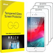 JETech 3-Pack Screen Protector for Apple iPhone SE 2020, iPhone 8, iPhone 7, iPhone 6s, and iPhone 6, Tempered Glass Film, 4.7-Inch