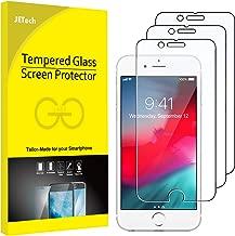 JETech Schutzfolie kompatibel mit iPhone 8, iPhone 7, iPhone 6s, und iPhone 6, Panzerglas Displayschutzfolie, 3 Stück