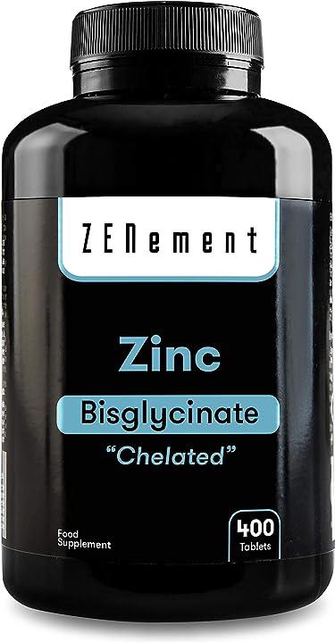 Zinco bisglicinato chelato -  400 compresse zenement CCCC-15249