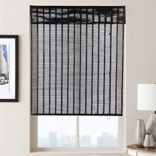 black bamboo blinds