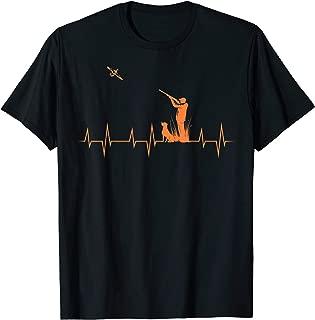 Duck Hunting Heartbeat   Cute Animal Hunter Funny Hunt Gift T-Shirt
