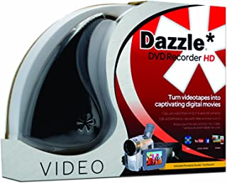 Pinnacle Dazzle DVD Recorder HD | Video Capture Device + Video Editing Software [PC Disc]