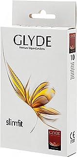 Glyde Ultra Slimfit 10 smalle condooms, veganistisch, 49 mm breed