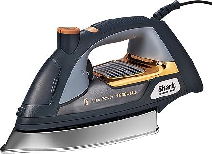 Tiburón máxima GI505 las 18 vatios profesional de auto-limpieza plancha de vapor 24,13 cm placa
