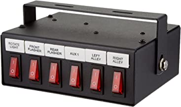Buyers Products 6391106 Illuminated 6-Function On Switch Box
