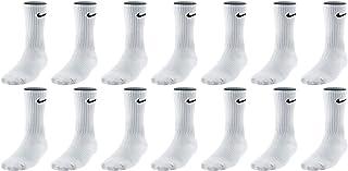 14 pares de calcetines largos para hombre, mujer, blanco o negro o blanco, gris y negro, paquete de calcetines de tenis, talla: 46 – 50, paquete de calcetines: 14 pares, color blanco