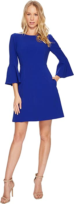 Vince Camuto - Bell Sleeve A-Line Dress