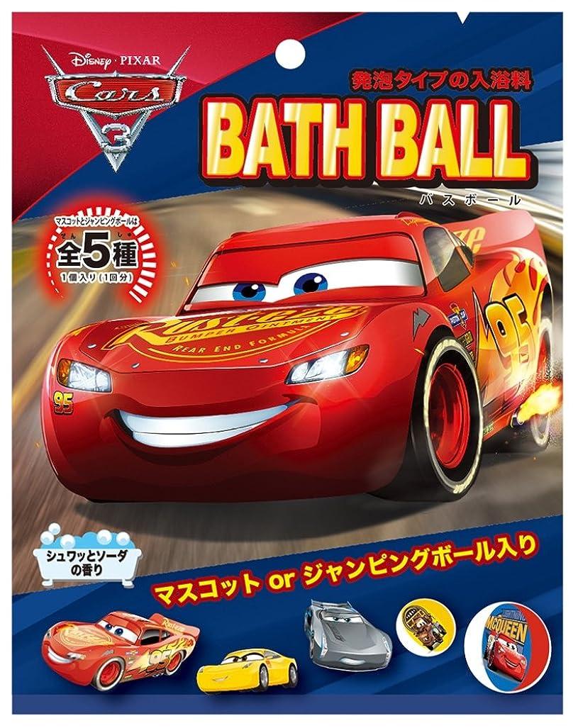 城いう勇気のあるディズニー 入浴剤 カーズ3 バスボール おまけ付き ソーダの香り DIP-90-01