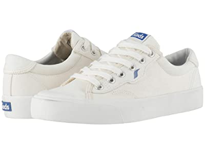 Keds Crew Kick 75 Canvas (White Canvas) Women
