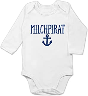 Shirtracer Up to Date Baby - Milchpirat - Baby Body Langarm