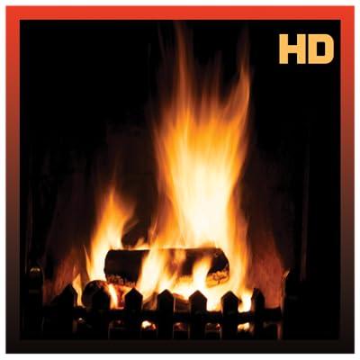 Fireplace Burning Wood HD from Apploft