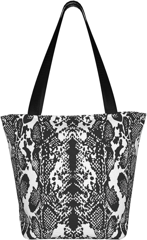 Large Tote Bag Canvas Hobo Bag Daily Work Shoulder Handbag Best Gifts for Women (Music Note Tape)