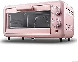 Mini tostadora Horno Sartén Mini hornear horno, horno de la tostadora de convección con temporizador, configuración de asado, puede hornear pizza, tostadas, panecillos, pizza