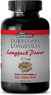Tongkat ali Root Extract - Longjack Power Eurycoma Longifolia 2275mg - Testosterone Booster for Men Sex Drive (1 Bottle - ...