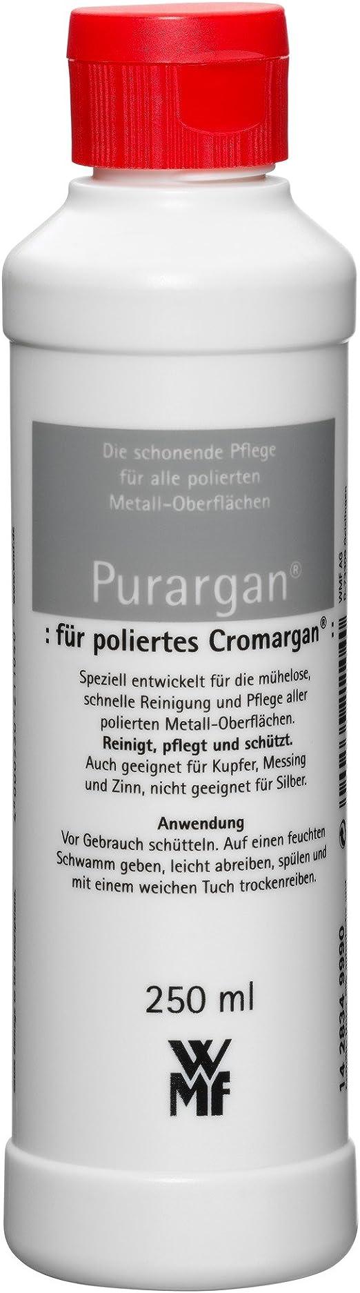 Wmf Pflegemittel Purargan Für Polierte Cromargan Oberflächen 250 Ml Küche Haushalt