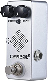 MOSKY Dynamic Compressor Pedal Guitar Effect Pedal with 100% analog signal path
