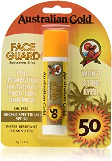Australian Gold SPF 50+ Face Guard, 0.5 Ounce (Pack of 2)