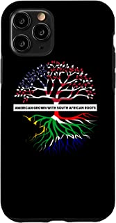 iPhone 11 Pro South Africa African Flag American USA Immigrant Native Case