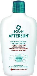 Ecran Aftersun, Leche Post-Solar Hidratante y Reparadora - Formato Familiar de 400 ml