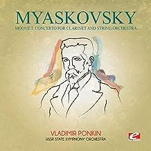 Myaskovsky: Moove T Concerto for Clarinet & String