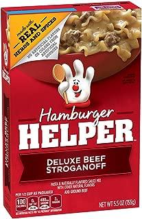 Best hamburger helper deluxe beef stroganoff Reviews
