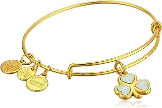 Alex and Ani Crystal Shamrock Bracelet