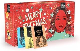 Just Spices Gewürz Adventskalender 2021 I Weihnachtskalender mit 24 Gewürzmischungen + Rezepten I Hochwertige Gewürze als ...