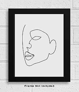 Abstract Minimalist Single Line Wall Decor - 11x14