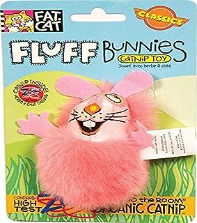 Petmate Fat Cat Classic Fluff Bunnies, Color May Vary