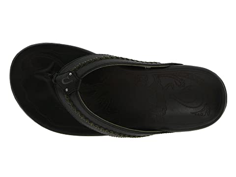 Clearance Geniue Stockist 100% Original OluKai Mea Ola Black/Black From UK 1fz0f8ENJ