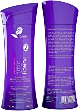 Punch Skin Care's Blonde Hair Conditioner | Purple Conditioner Instantly Eliminate Brassiness & Yellows Tones on Blond and Gray Hairs | Color Enhancing Sulfate-Free Toning Conditioner, (13.5 fl oz)