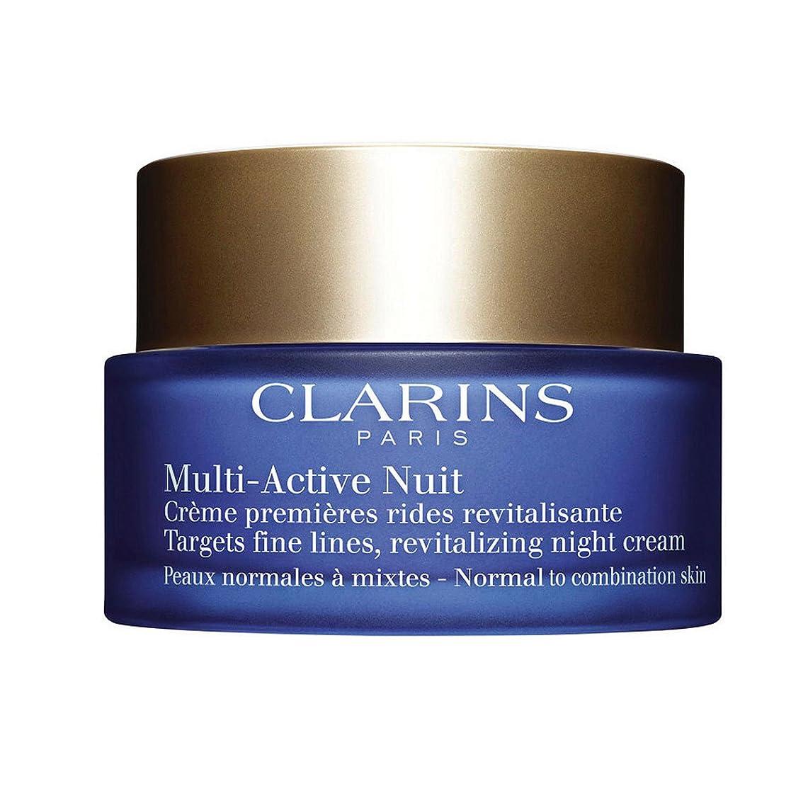 逸話病気外国人Clarins Multi-active Night Normal To Combination Skin 50ml [並行輸入品]