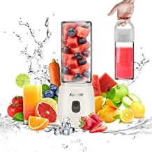 Portable Blender for Shakes and Smoothies, Cordless Small Smoothie Blender Maker, USB Mini Blender for Making Smoothies Ma...