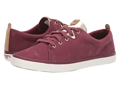 Sperry Sailor Lace To Toe Leather (Wine) Women