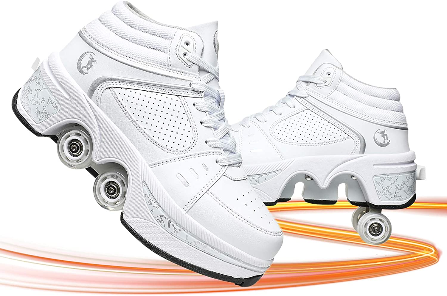 Deformation Roller Shoes Cheap bargain Retractable Wo Ranking TOP10 Skating for Skates