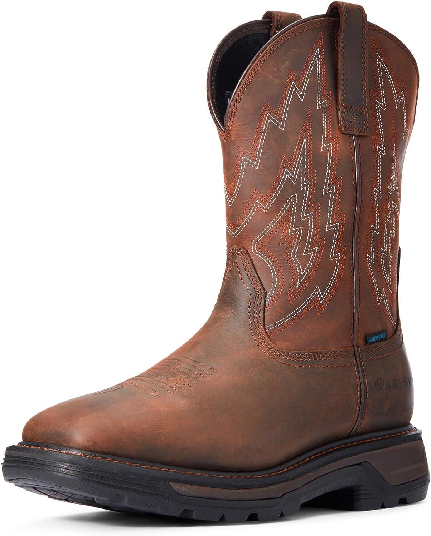 ARIAT Men's Big Rig Waterproof Boot Work Brand Cheap Sale Venue Brown Dark New mail order