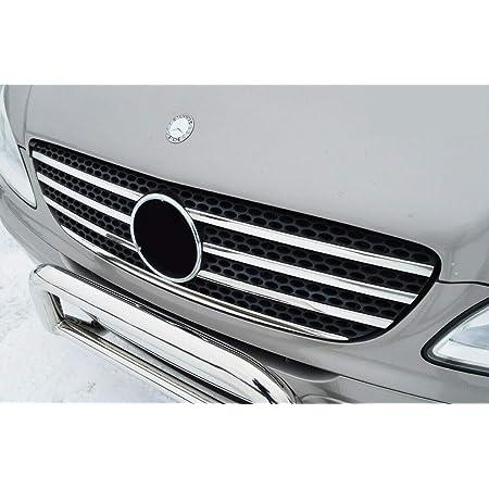 Chromeline Passend Für Mercedes Vito W639 Viano W639 2003 2010 Chrom Frontgrill Akzent Zierleisten 7 Stück Glänzend Edelstahl Auto