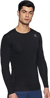 Reebok Men's Round Neck Synthetic T-Shirt