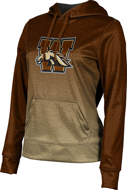 ProSphere Western Michigan University Girls' Pullover Hoodie, School Spirit Sweatshirt (Ombre)