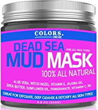 Dead Sea Mud Mask – Witch Hazel And Aloe Great for Acne, Oily Skin & Blackheads – Best Facial Pore Minimizer, Cleansing Treatment – With Added Vitamins C, E, B3, and Jojoba – Natural And All Vegan
