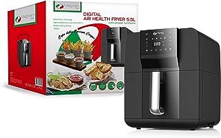 MAGNANI Friteuse électrique 5.5 L, Friteuse digital 1700 W, Friteuse Air Chaud sans huile, 38.1 x 29.6 x 35.2