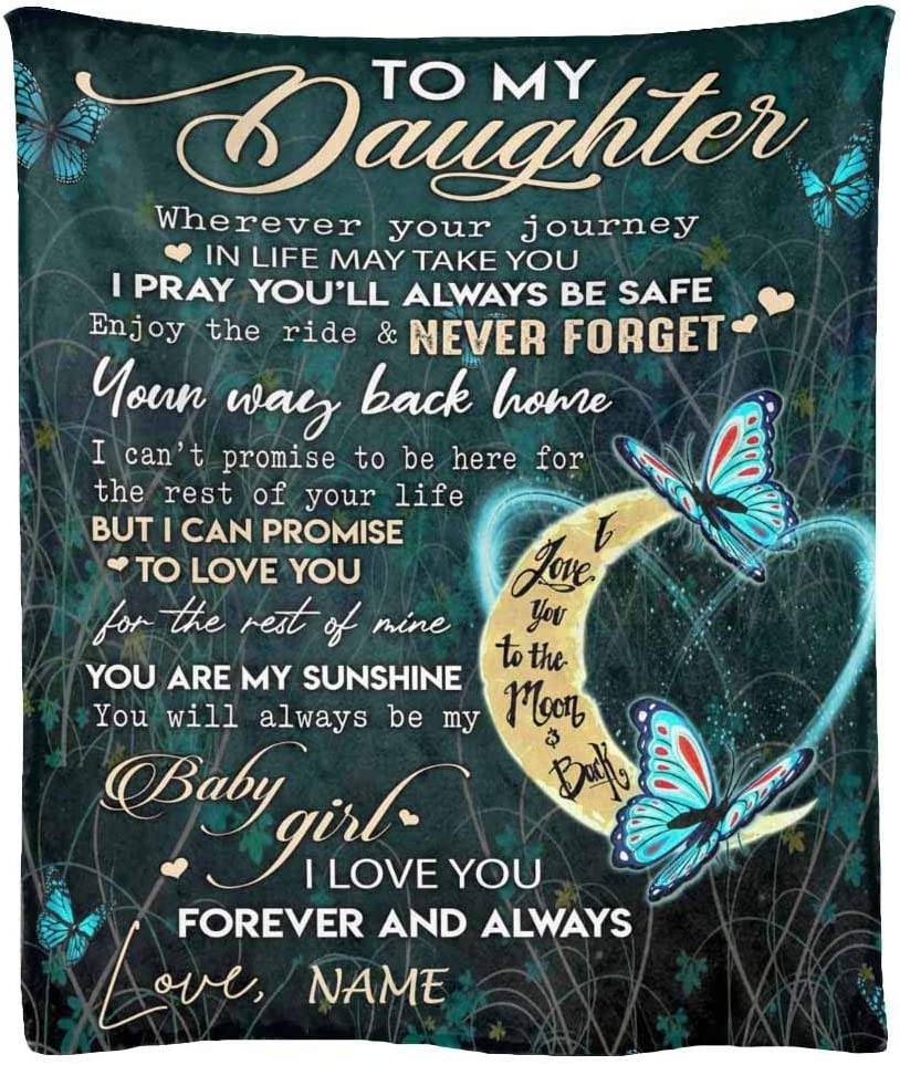 Personalized Blanket for Colorado Springs Mall My Daughter You are Max 72% OFF Baby Sunshine Gi