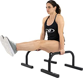 Valor Fitness PR-LT Gymnastic Parallette Bars for Gymnastics Training Dip Bars Pushup Stands Parallettes to Build Core//Body Weight Strength Balance Muscle