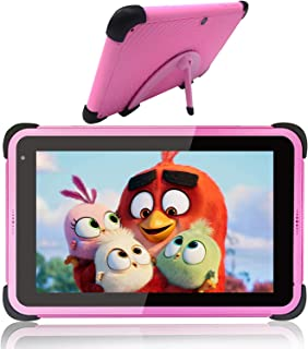 Kids Tablets 7 Inch 32GB Storage 2GB RAM Android 10 Tablets for Kids Learning Tablet IPS HD Display WiFi Tablet for Girls,...