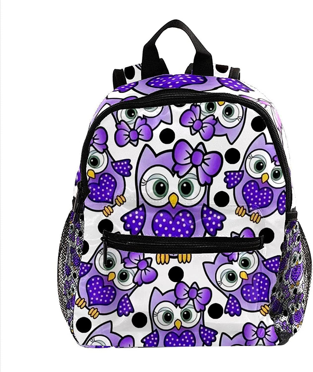 Purple Birds and Hearts Children's excellence Excellent rucksack backpack mini