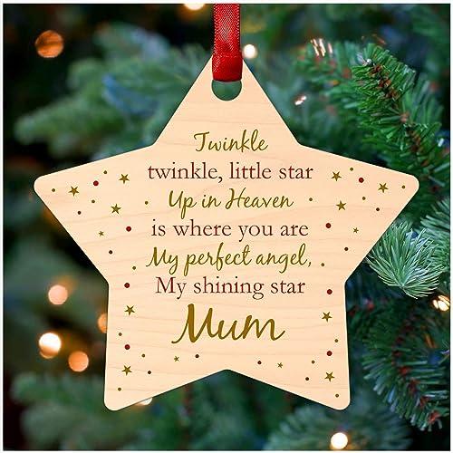 Personalised In Memory Dove Memorial Christmas Tree Ornament Decoration Love
